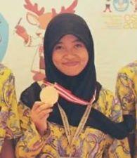 Sani Afifah Medali
