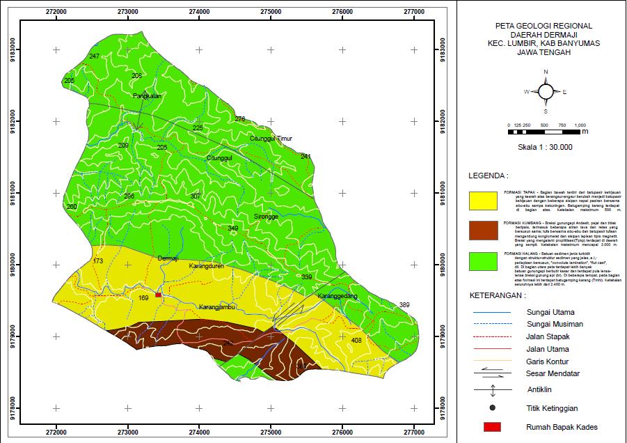 Peta Geologi Regional